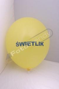 Balony reklamowe ukazują głowny człon działalności